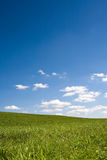 Landscape with blue sky Royalty Free Stock Photo