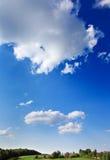 Landscape of blue sky Royalty Free Stock Images