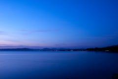 Landscape. Bluesky bluewater twilight Stock Photography