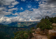 Landscape at the Blyde River Canyon Royalty Free Stock Images