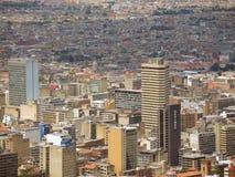 Landscape of Bogota, Colombia. Stock Images
