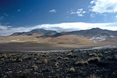 Landscape in Bolivia,Bolivia. Landscape in Eduardo Avaroa National Reserve,Bolivia Stock Photos