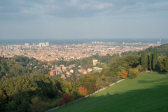 Landscape of Bologna Royalty Free Stock Photo
