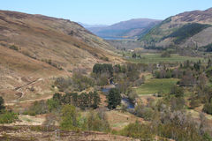 Landscape of Braemore area in Scotland Royalty Free Stock Photography