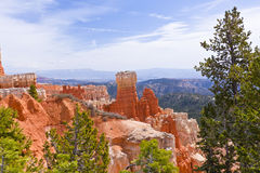 Landscape of Bryce Canyon National Park Stock Photo