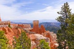 Landscape of Bryce Canyon National Park Stock Photo
