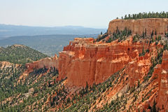 Landscape in Bryce Canyon Royalty Free Stock Photography