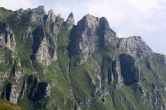 Landscape from Bucegi Mountains Royalty Free Stock Images