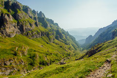 Landscape in Bucegi mountains Royalty Free Stock Photography