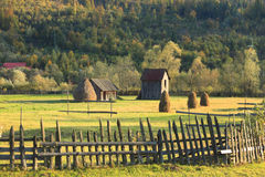 Landscape in Bucovina,Romania Royalty Free Stock Photography