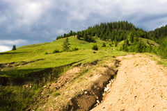 Landscape from Bucovina (Romania). A landscape from Bucovina. A region from the North of Romania Stock Images
