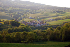 Landscape of Bugey region Royalty Free Stock Photo