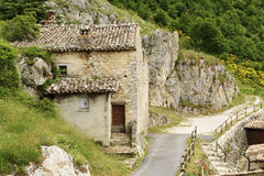 Landscape and buildings Elcito Royalty Free Stock Images