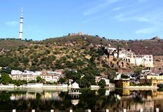 Landscape bundi, rajasthan india Royalty Free Stock Image