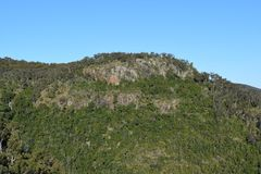 Landscape in Bunya National Park Stock Photo