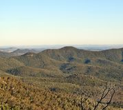 Landscape in Bunya National Park Stock Photography