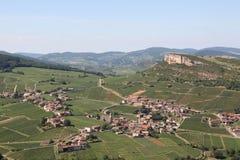 Landscape in Burgundy, France Royalty Free Stock Photo