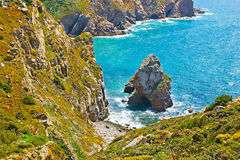 The landscape of Cabo da Roca Royalty Free Stock Photography