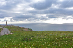 Landscape of Cabo da Roca, Portugal Royalty Free Stock Photography