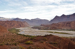Landscape of Cafayate stock image