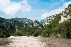Landscape in Cala Luna Royalty Free Stock Photography