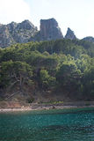 Landscape Cala Tuent Mallorca Royalty Free Stock Photography