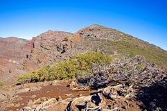 Landscape of Caldera de Taburiente from La Palma Stock Images
