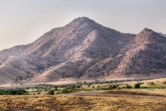 Landscape in California Royalty Free Stock Photography