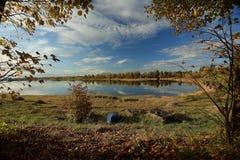 Landscape calm lake Stock Images