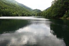 Landscape calm morning lake Royalty Free Stock Images