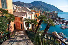 Landscape - Camogli Royalty Free Stock Photography