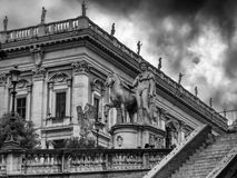 Landscape of Campidoglio Rome Italy Royalty Free Stock Images