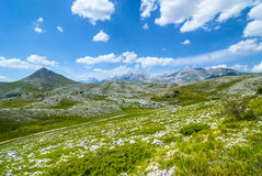 Landscape of Campo Imperatore Royalty Free Stock Photography