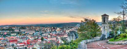 Landscape of campobasso Royalty Free Stock Photo