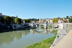 Landscape canal in italy Stock Images