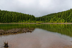 Landscape of Canarios Lake Royalty Free Stock Images