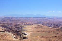 Landscape Canyonlands National Park, Moab, Utah, United States Royalty Free Stock Photography