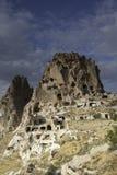 Landscape from Capadocia Landscape in Turkey. City rock in Goreme area in Capadocia, Turkey Stock Photo