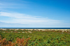 Landscape at Cape Cod. Massachusetts, USA Stock Images