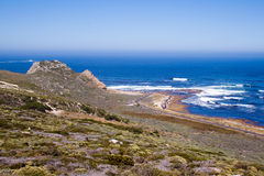 Landscape at the Cape of Good Hope. Royalty Free Stock Image