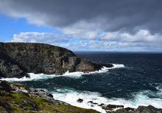 Landscape at Cape St Francis, NL Canada. Landscape along the Killick Coast, seascape at Cape St Francis , Avalon Peninsula, NL Canada stock images