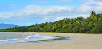 Landscape of Cape Tribulation in Daintree National Park Queensla Stock Photo