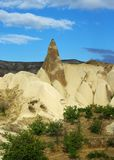 Landscape in Cappadocia Royalty Free Stock Image
