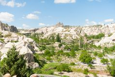 Landscape - Cappadocia Royalty Free Stock Photo
