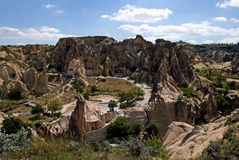 Landscape of Cappadocia Royalty Free Stock Photo