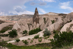 Landscape of Cappadocia Stock Photo