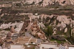 Landscape of Cappadocia stock photo