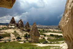 Landscape of Cappadocia Royalty Free Stock Image