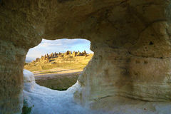 Landscape of Cappadocia, Turkey Royalty Free Stock Photos