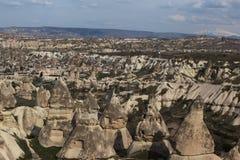 Landscape at Cappadocia, Turkey Stock Photo